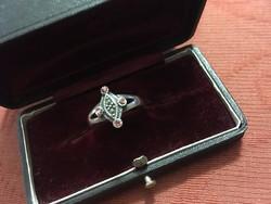 Szép ezüst antik gyűrű