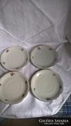 4 drb.virágos zsolnay teás csészealj