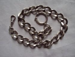 Antik ezüst Grófi zsebóra lánc
