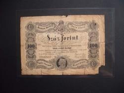 100 forint 1848 Kossuth bankó