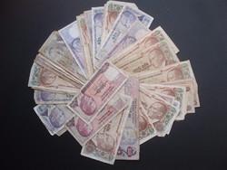 Törökország 50 lira MIX-LOT !!!