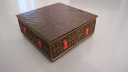 Iparművész bronz, réz doboz