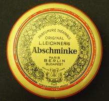 Leichner kozmetikai/pipere doboz