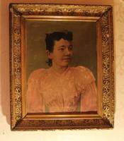 Barabás Miklós: Biedermeier hölgy portréja