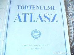 1969-es  kiadású TÖRTÉNELMI ATLASZ