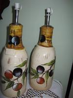 Olíva bogyós olaj kiöntő