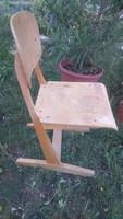 Retro fa szék suliszék