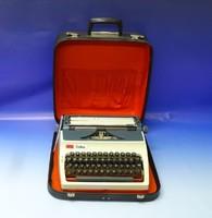 0N121 Retro ERIKA írógép hord táskával