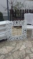 Provence barokk stílusú tükör
