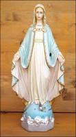 Jelzett nagyméretű Mária szobor