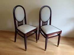 Szecessziós szék kárpitos art deco szék  - 1db 22000ft