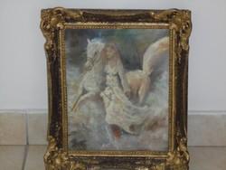 NÁRAY AURÉL:eredeti festménye