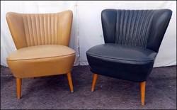Retro műbőr sky fotel , klubfotel párban