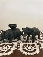 Elefánt & Rinócéros