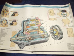 Veterán poszter, plakát retro Zsiguli Lada 2107 VAZ 1