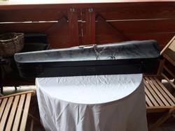 Régi hegedű koporsó tokban fellelt állapotban