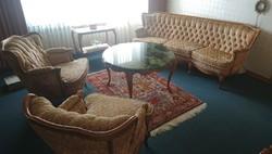Chippendél barokk négy darabos ülőgarnitura
