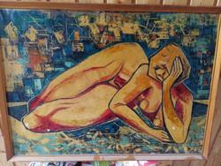 Pintér József festmény