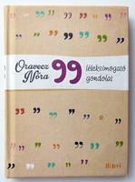 Oravecz Nóra: 99 léleksimogató gondolat