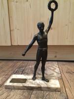 Nagyon szép bronz szobor [1948]