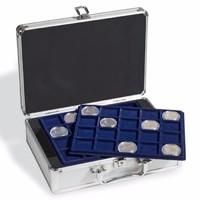 Érmebőrönd 6 db érmetáblával (S-es méret)