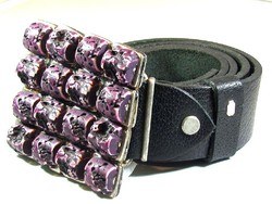 Egyedi készítésű bőröv (Kecs-R50284)