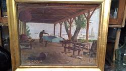 Vidovszky Béla Festmény