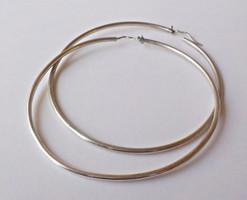 925-ös ezüst karika fülbevaló