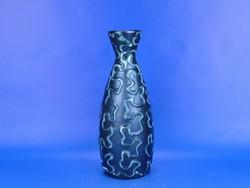 0D488 Retro iparművészeti kerámia váza