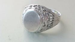 Ezüst kis pecsétgyűrű