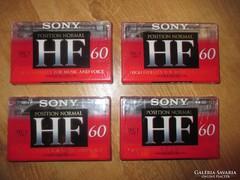 SONY audio-magnókazetta 60 min.