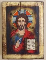 Jézus Pankrátor/ megváltó/ ikon