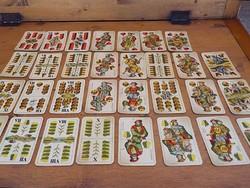 Piatnik régi magyar kártya pakli