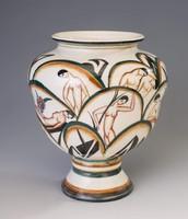 Art deco Keramos váza