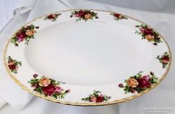 Royal Albert Old Country Roses ovális kínáló 34 x 27 cm