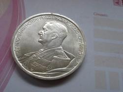 1939 szép ezüst 5 pengő++verdefényes,gyönyörű