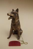 Bronz kutya szobor