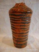 Gorka kerámia váza , sérült