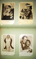 Sztárfotó gyűjtemény Rökk Marika, Jeanette MacDonald, Norma Shearer, Simone Simon