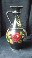 Kézzel festett kalocsai váza 30 cm