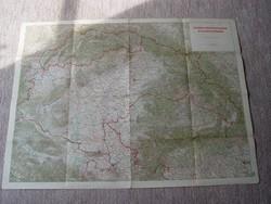 Csonka Magyarország Áttekintőtérképe 1942