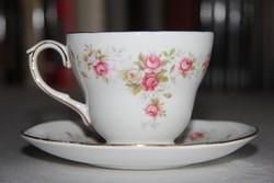 Angol Duchess June Bouquet teás csésze alátéttel