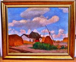 Zombory Lajos (1867-1933) festmény - AKCIÓ !!!