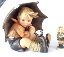 Sérült Hummel Goebel Esernyős Fiú TMK2 umbrella boy 20cm