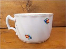 Régi Zsolnay virágos csésze