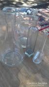 Hagyaték 4 drb. üveg régiség