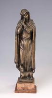 Búza Barna bronz szobor