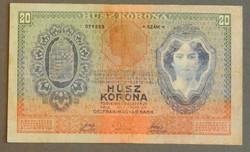 20 korona 1907
