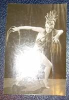 Vajda M. Pál Bordy Bella táncosnő eredeti fotó