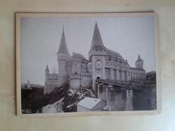 Fotó Vajdahunyad vára, 1880 körüli.